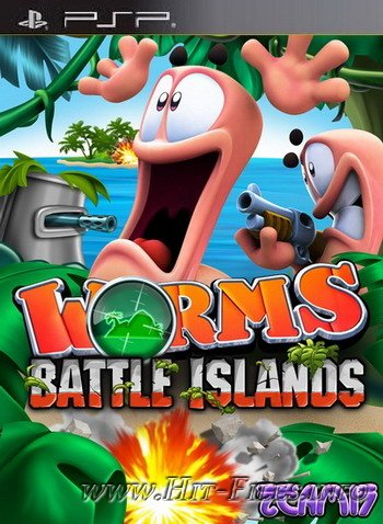 Worms: Battle Islands ( 2010 / Eng / PSP )