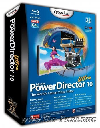 CyberLink PowerDirector Ultra 10.0.0.1703 ML + Rus