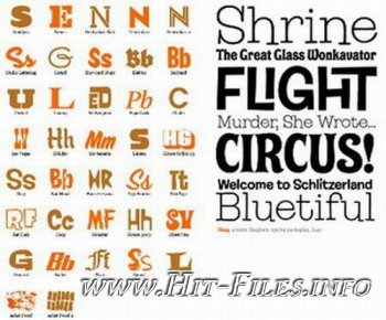 100 House Industries Fonts