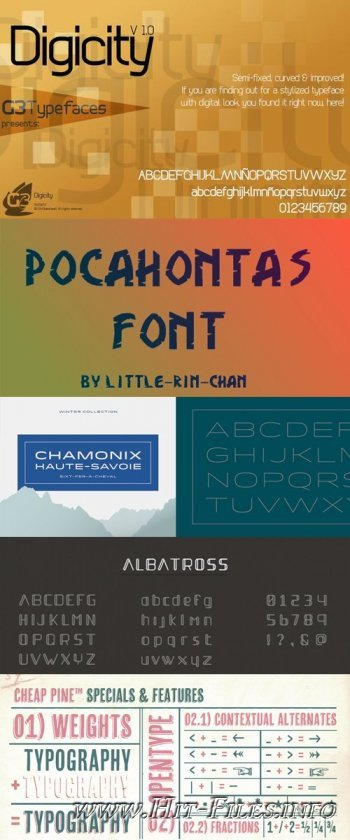 89 Fonts Pack