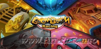 BoomBoom Racing ( 1.0 ). ( Головоломка, Eng ) ( Android )