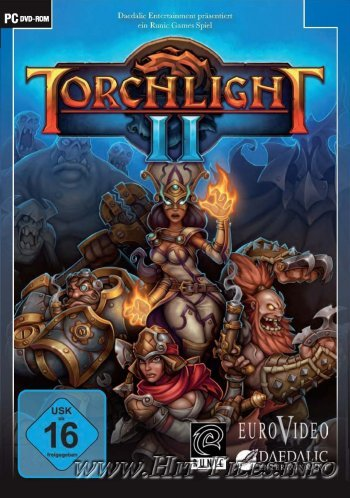 Torchlight II ( 2012 / Rus / Eng / MULTi3 / 1С / Repack )