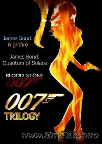 Трилогия James Bond (2002-2010/Rus/RePack)