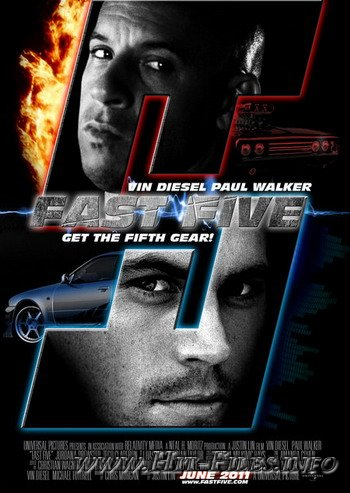 Форсаж 5 / Fast And Furious 5 (2011/ENG)