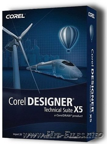 Corel Designer Technical Suite X5 SP1 ( 2011 )