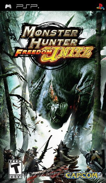 Monster Hunter Freedom Unite ( 2009 / Eng / PSP )