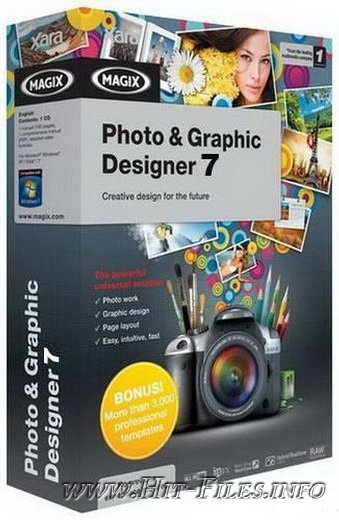 Xara Photo & Graphic Designer Pro v7.1.1.17261 + Rus