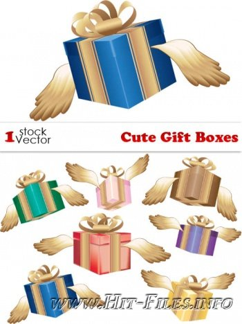 Cute Gift Boxes ( 2012 / AI )
