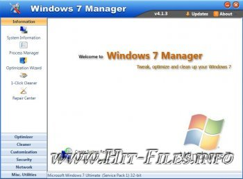 Windows 7 Manager 4.1.3