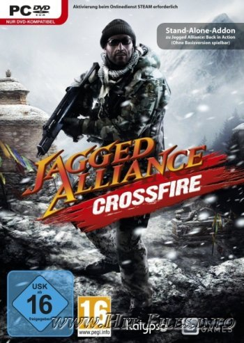 Jagged Alliance: Crossfire ( 2012 / Rus / Eng / Add-On / Full / RePack )