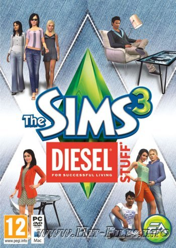 The Sims 3: Каталог Diesel ( 2012 / Multi20 / Rus / Eng / Add-On )