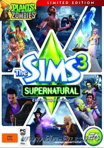 The Sims 3: Supernatural Limited Edition ( 2012 / Eng / Add-on )