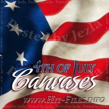 Коллекция фонов - 4th of July Canvases