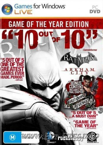 Batman Arkham City: Game of the Year Edition ( 2012 / Eng )