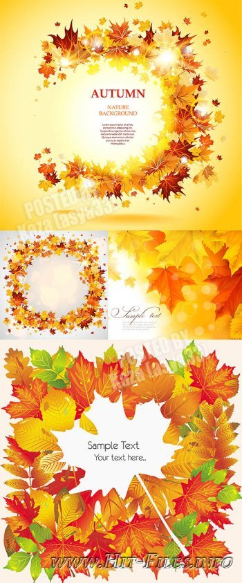 Autumn cards 10