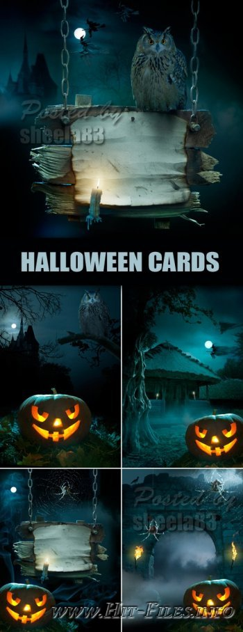 Фоны на Хэллоуин - Halloween Backgrounds