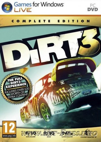 DiRT 3. Complete Edition ( 2012 / Multi5 / Rus / Eng / Full / RePack )