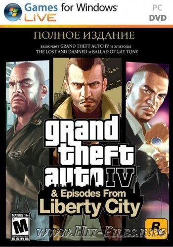 Grand Theft Auto IV: Complete Edition ( 2010 / Rus / Eng / MULTI6 / Repack )